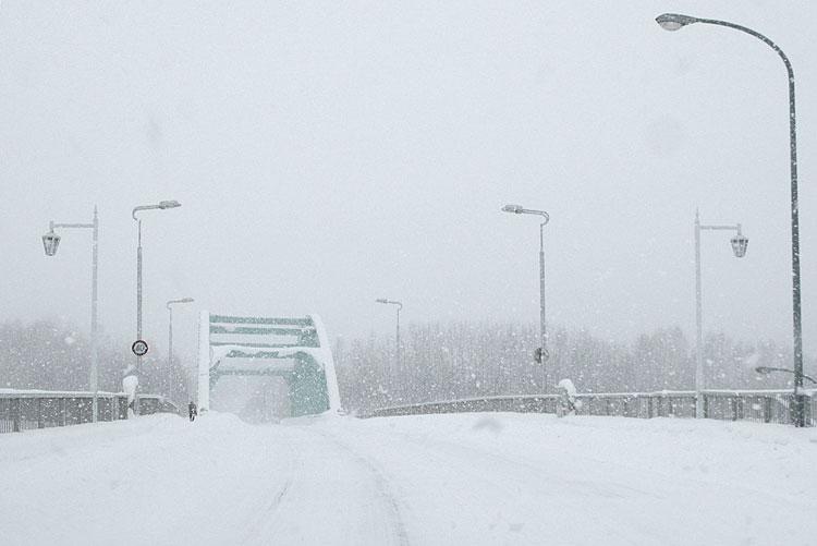 美瑛町冬景色!